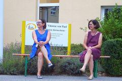 Beide Vorsitzende bei Sax4You im Sankt Vinzenz