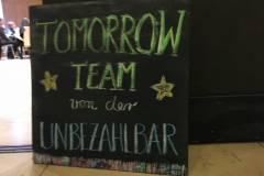 Tomorrow Team der Unbezahlbar