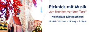 """Picknick mit Musik """"Am Brunnen vor dem Tore"""" @ Kirchplatz"""